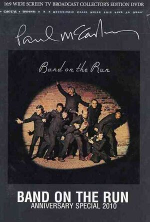 DVD Paul McCartney - Band On The Run ( Anniversary Special 2010 ) ( 16.9 Wide Screen TV Broadcast Collector's Edition )