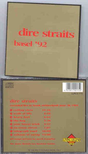 Dire Straits - Basel '92  ( Living Legend )  ( Live In Basel , Switzerland , June 28th , 1992 )