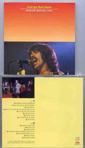 George Harrison - Baton Rouge 1974  ( VOXX ) ( 2 CD!!!!! set )