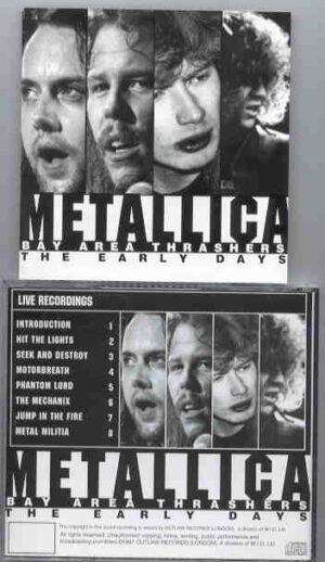 Metallica - Bay Area Trashers ( Early Live Recordings )
