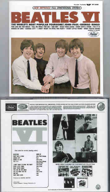 The Beatles - Beatles VI  ( US Capitol STEREO )