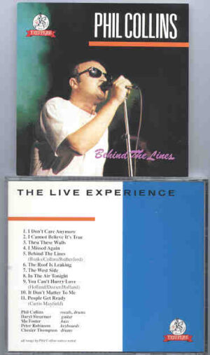 P. Gabriel  /  GENESIS  /  P. Collins - Behind The Lines ( Great Dane ) ( Phil Collins )
