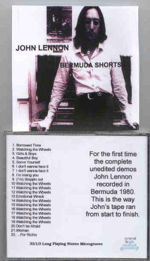 John Lennon - Bermuda Shorts