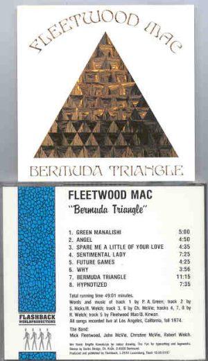 Lindsey Buckingham Fleetwood Mac - Bermuda Triangle  ( Flashback ) ( Los Angeles , CA , USA , Fall 1974 )
