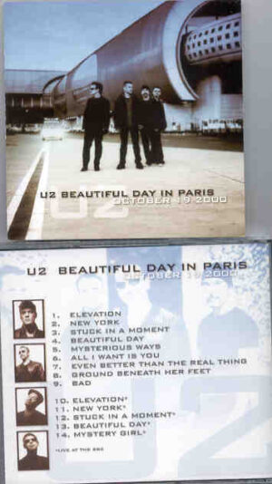 U2 - Beautiful Day In Paris (  Paris , France , October 19th , 2000 + Bonustracks Live At The BBC  )