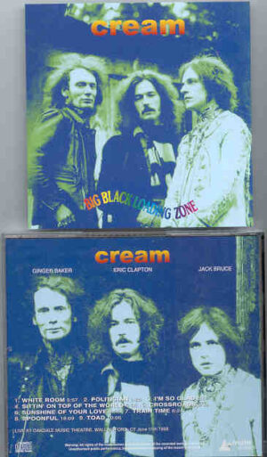 Jack Bruce - Big Black Loading Zone ( CREAM at Oakdale Music Theatre , Wallingford , CT , June 15th , 1968 )