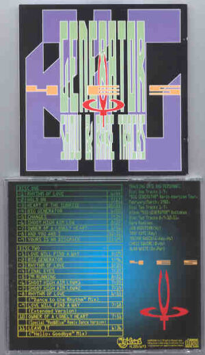 Yes - Big Generator Show & Rare Tracks ( Highland ) ( 2 CD!!!!! SET ) ( N. American Tour 1988 + Bonus Remixes)