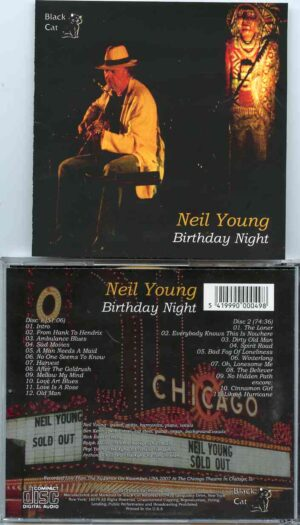 Neil Young / CSNY - Birthday Night ( 2 CD!!!!! ) ( Chicago Theater , Chicago , IL , USA , November 12th , 2007 )