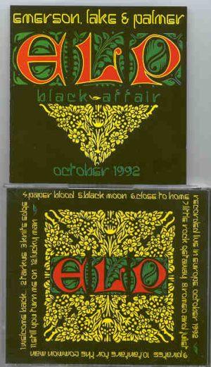 Emerson , Lake & Palmer - Black Affair