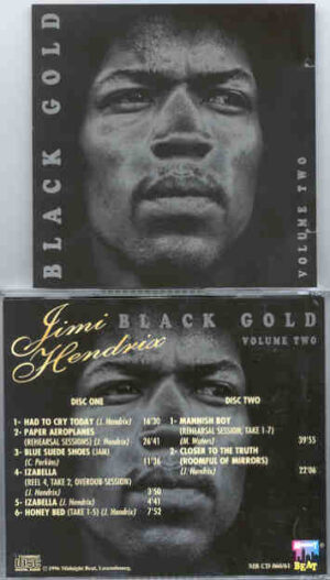 Jimi Hendrix - Black Gold Vol. 2 ( 2 CD!!!!! Set ) ( Midnight Beat )( Excellent Collection of Studio Outtakes )