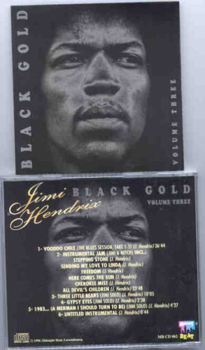 Jimi Hendrix - Black Gold Vol. 3 ( Midnight Beat ) ( Excellent Collection of Studio Outtakes )
