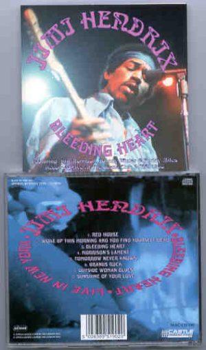 Jimi Hendrix - Bleeding Hearts ( Live in New York )