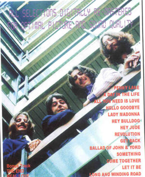 DVD The Beatles - 1967 - 1970 Blue Album