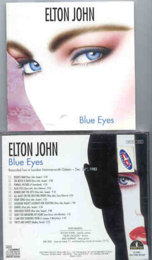 Elton John - Blue Eyes ( London Hammersmith Odeon , December 24th , 1982 )