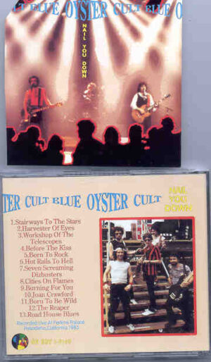 Blue Oyster Cult - Nail You Down   ( Oh Boy Recs. )