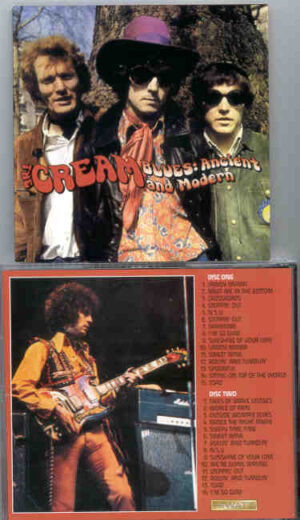 Jack Bruce - Blues Ancient And Modern ( 2 CD!!!!! set ) ( CREAM Live at London & Stockholm '67 & '68 )