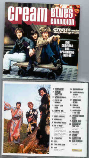 Jack Bruce - Blues Condition ( Cream )  ( Live 1967 )