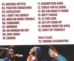 DVD Bob Marley - Uprising Tour 1980