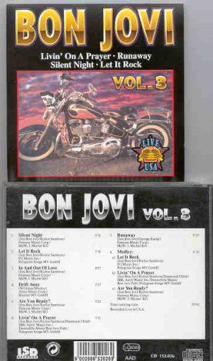 Bon Jovi - Bon Jovi LIVE IN USA Vol. 3