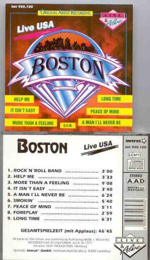 Boston - Live USA
