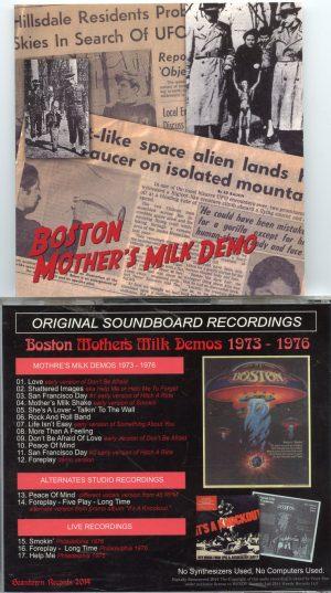Boston - Mother Milk Demos ( 1973 - 1976 ) ( Beantown Records 2014 )