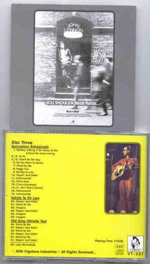 John Lennon - Brandy Alexander's Wall Of Sound Disc Three  ( Vigotone )