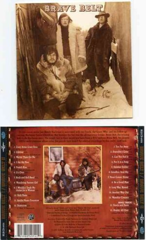 Bachman Turner Overdrive - Brave Belt ( Randy Bachman's Band ) - BRAVE BELT I & II ( 2 CD!!!!! SET )( Original Album on CD )