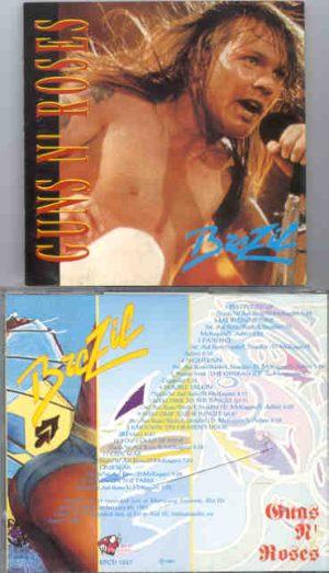 Guns N' Roses - Brazil ( Red Phantom ) ( Maracana Stadium , Rio De Janeiro , Brazil , January 20th , 1991 )