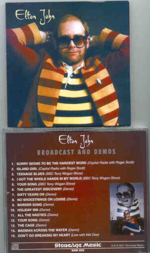 Elton John - Broadcasts And Demos