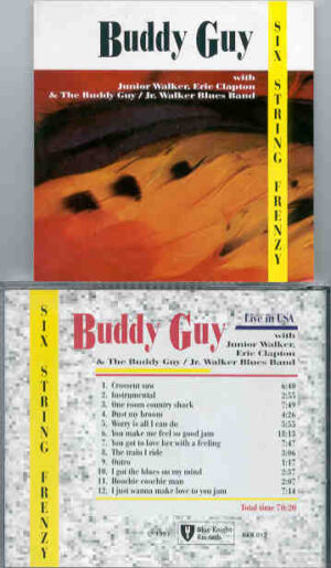 Buddy Guy - Six String Frenzy ( Live in USA with Eric Clapton )