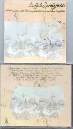 Neil Young / CSNY - Buffalo Springfield Collection ( ATCO Two Albums In One CD )