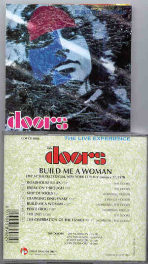 The Doors - Build Me A Woman  ( Great Dane Recs ) ( New York , January 7th , 1970 )