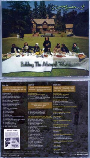 George Harrison - Building The Material World (3CD Set) ( Misterclaudel ) ( Recording Sessions plus Dylan at Columbia Studios 1970 )