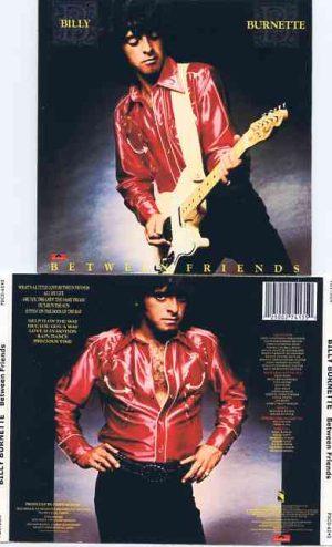 Lindsey Buckingham Fleetwood Mac - Between Two Friends ( Billy Burnette's Album on cd )