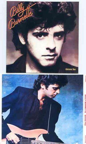 Lindsey Buckingham Fleetwood Mac - Gimme You ( Billy Burnette's Album on cd )