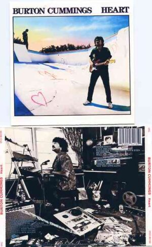 Bachman Turner Overdrive - Heart ( Burton Cummings Original Album on CD )