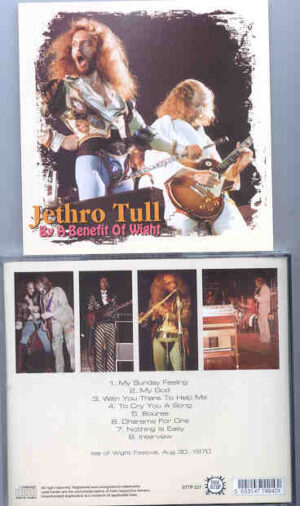 Jethro Tull - By A Benefit Of Wight ( Isle Of Wight Festival , August 30th , 1970 ) ( STTP )