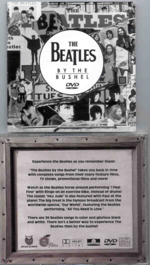 DVD The Beatles - By The Bushel