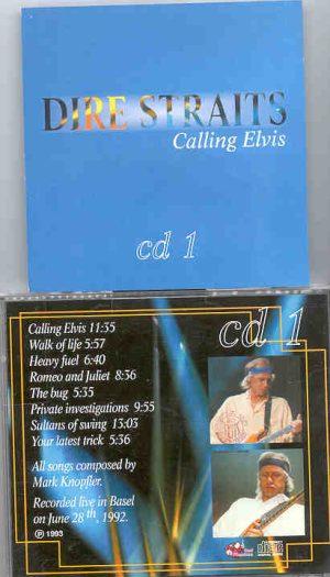 Dire Straits - Calling Elvis Part One  ( Great Dane Recs. )