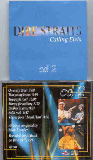 Dire Straits - Calling Elvis Part Two  ( Great Dane Recs. )