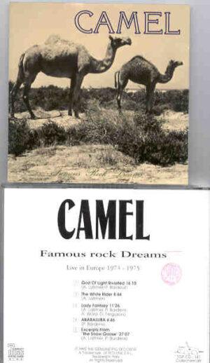 Camel - Famous Rock Dreams ( Swingin' Pig ) ( Live In Europe 1973-1975  )