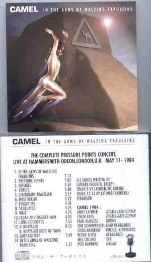 Camel - In The Arms Of Walzing Frauleins ( Hammersmith Odeon , London , UK , May 11th , 1984 )