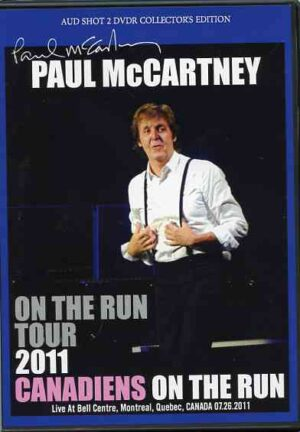 DVD Paul McCartney - Canadiens On The Run 2011 ( 2 DVD SET ) ( Bell Centre , Montreal , Quebec , Canada , July 26th , 2011 )