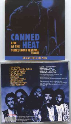 Canned Heat - Live At The Turku Rock Festival ( August 1971 , Finland )