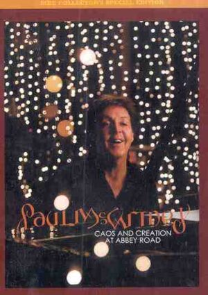 DVD Paul McCartney - Caos And Creation At Abbey Road