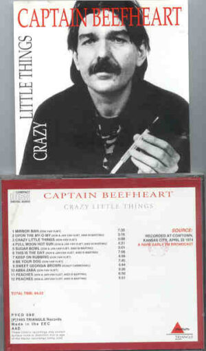 Captain Beefheart - Crazy Little Things ( Triangle ) ( Cowtown , Kansas City , April 22nd , 1974 )