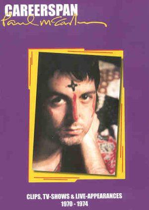 DVD Paul McCartney - Careerspan 1970 -1974 ( Clips , TV Shows & Live Appearances ) Vol 1