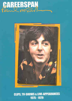 DVD Paul McCartney - Careerspan 1975 -1979 ( Clips , TV Shows & Live Appearances ) Vol 2