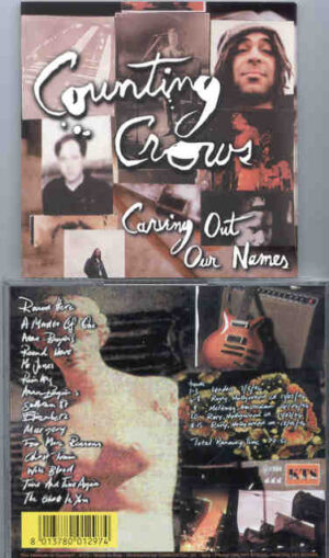 Counting Crows - Carrying Out Our Names ( KTS ) ( Various Live Takes From 1994 Tour )