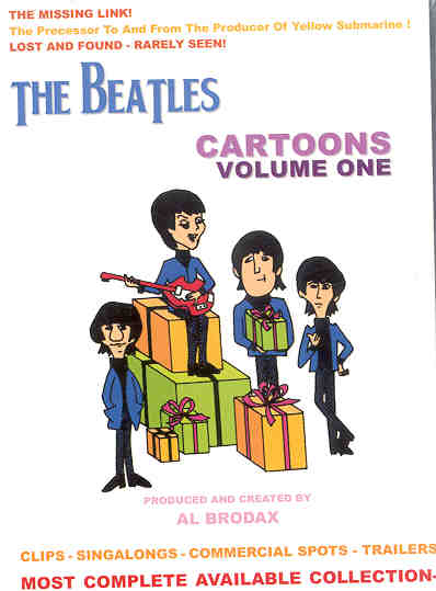 DVD The Beatles - Cartoons Collection Vol 1